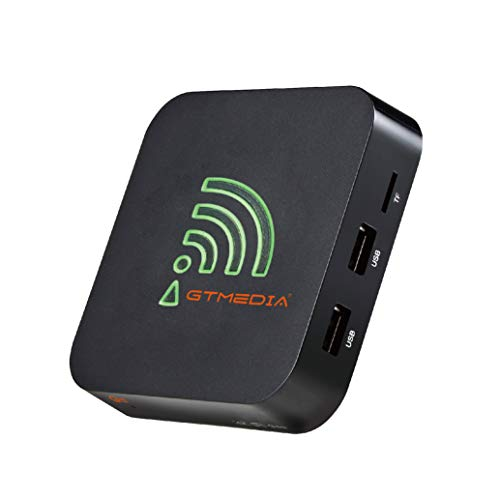 GTMEDIA Android 90 TV Box4G64G G5 Android TV Box mit Amlogic S905X2 Quad Core unterstutzt WiFi 24G50G Bluetooth 40 4KHD USB 30H265 Smart tv Box Android Box