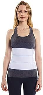 NYOrtho Abdominal Binder Lower Waist Support Belt - Compression Wrap for Men and Women (30