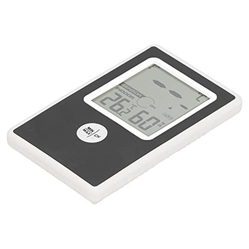 MOH Termohigrómetro-Termohigrómetro electrónico Termómetro higrómetro Digital para Interior y Exterior del hogar