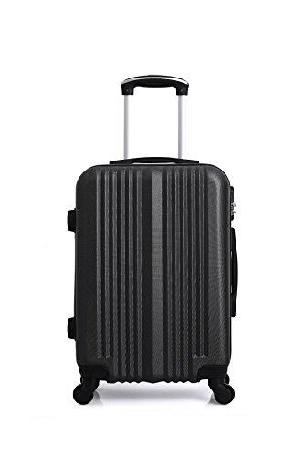 Hero Lipari Suitcase, 55 cm, 37 liters, Black (Noir)