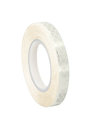 3M 3430 White Micro Prismatic Sheeting Reflective Tape 1' Width x 5yd Length (1 roll)
