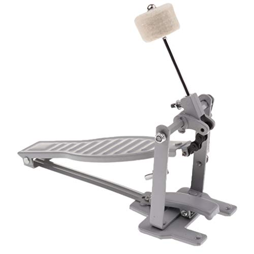 Baosity Single Spring Bass Drum Pedal with Drum Wool Beater for Children Gift -...