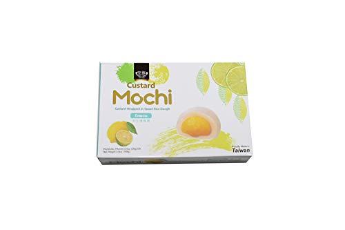 Japanese Custard Mochi - Lemon Flavor- Japanese Mochi 168g