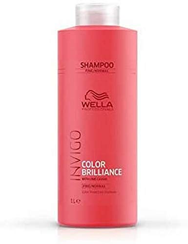 Wella, Champú Color Cabello Fino, 1000ml