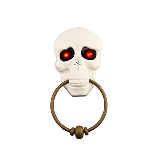 Halloween Decoratie/Horror Deurbel/Vampier Verlichten Schedel Deurbel Halloween Geluid En Lichtproppen Voor Hotels, Feesten, Restaurants, Gezinnen
