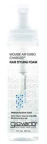 Giovanni Hair Care Products Natural Mousse Air-Turbo Charged Made with Organic Ingredients 200 g