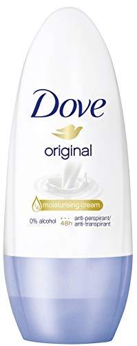 Dove Anti-Transpirant Deo Roll-On für 48 Stunden Schutz Original 0{1e5017cbe23bf888793395cf01a642777dc4a2dd52a14cba560a0ad6061c223a} Alkohol, 3er Pack (3 x 50 ml)