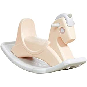 SCDXJ Child Rocking Horse Kids Rocking Horse Chair Ride Toy for Children for Nursery & Playroom Perfect for Ages 3+
