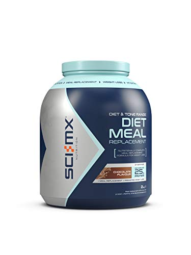 SCI-MX Nutrition Diet Pro Meal 2 kg Chocolate - High protein meal shake with diet-support nutrients by Sci-MX Nutrition