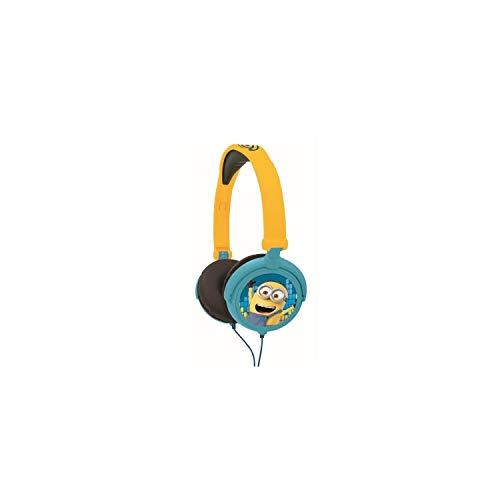 Lexibook HP010DES - Cuffie Stereo Bambini Cattivissimo Me 3 , Design Minions, Colore Giallo/Nero