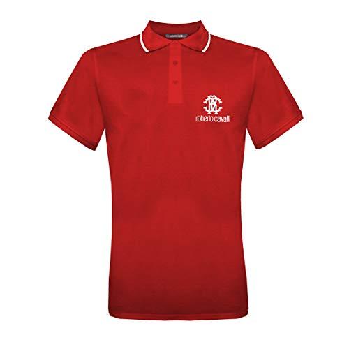 Roberto Cavalli Polo Man rojo M