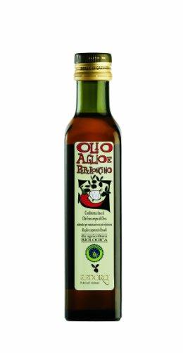 Redoro Olio aglio e peperoncino - Bio Extra vergine Olivenöl mit Chili und Knoblauch 250 ml