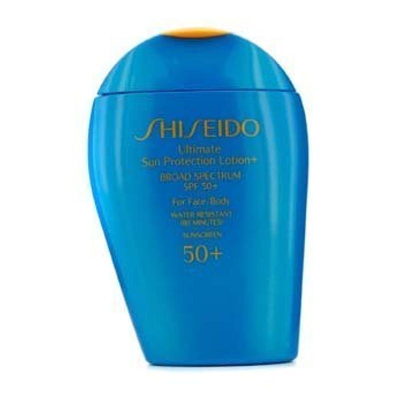市の中心部選ぶ適度なShiseido Ultimate Sun Protection Face & Body Lotion SPF 50+ - 100ml/3.3oz by Shiseido [並行輸入品]