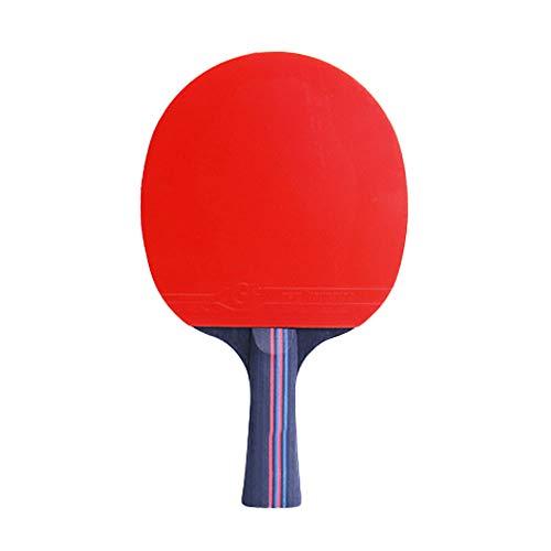 Y-H - Raqueta de tenis de mesa de dos estrellas de entrenamiento profesional para competición de una sola raqueta de tenis de mesa