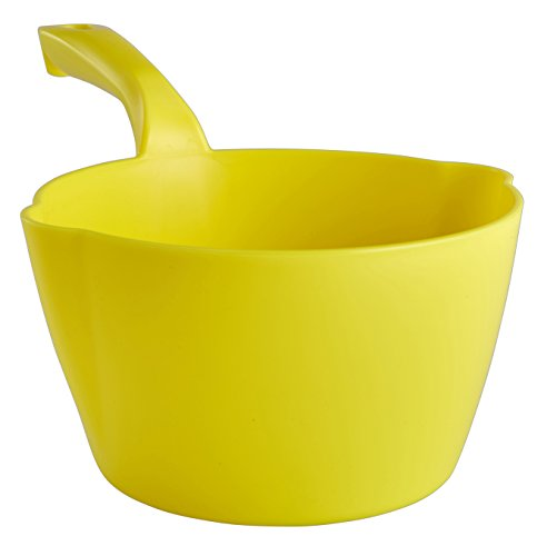 Learn More About Vikan 56826 64 oz. Round Scoop, Yellow, Polypropylene