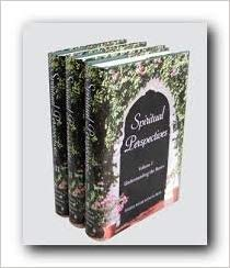 Hardcover Spiritual Perspectives Volume III: Living the Life Book