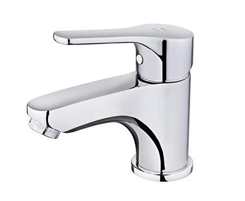 Strohm TEKA - Grifo de baño INCA PRO. Grifo monomando de lavabo, de latón cromado y sistema de ahorro de agua
