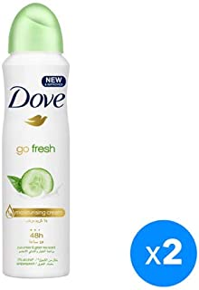 Dove Antiperspirant Deodorant Cucumber & Green Tea, 150ml