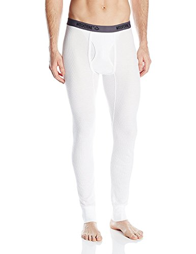 Wolverine Men's Natural Touch Thermal Pant, Artic White, X-Large