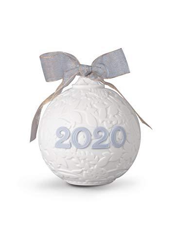 LLADRÓ Bola Navidad 2020. Bola De Navidad de Porcelana.