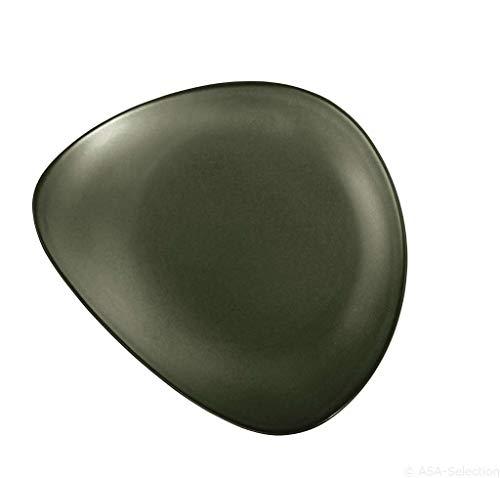 ASA - Essteller - Cuba Verde - Feinsteinzeug - grün - Ø27,5 cm