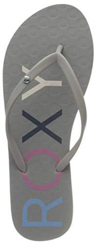Roxy Sandy, Zapatos Playa Piscina Mujer, Gris Grey