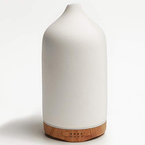 VIVITEST Aromatherapy Diffuser,Ceramic Ultrasonic Essential Oil Diffuser for Aromatherapy (250ML)