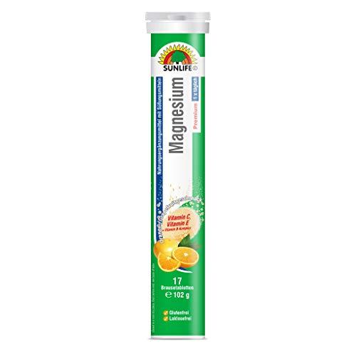 SUNLIFE Magnesium Brausetabletten hochdosiert, 101.99 g