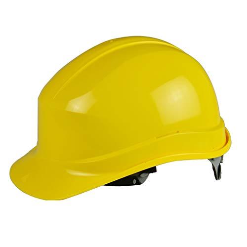 LYFHMP Schutzhelm-Arbeitsversicherung for Männer ist for Bau-Richtungs-Technik-Kappe, Schutzhelm-Vor-Ort-Verdickung ABS verwendbar (Color : A)