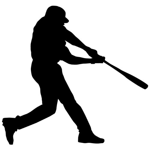 "Baseball Wall Decals Sticker 51 - 36 in. (36""W x 34.25""H) - Decal Sticker Mural for Kid Boy Girl Room Bedroom. Sport Vinyl Wall Art Home Decor"