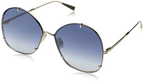 Max Mara Damen Mm Hooks Sonnenbrille, Mehrfarbig (Rose Gold), 61
