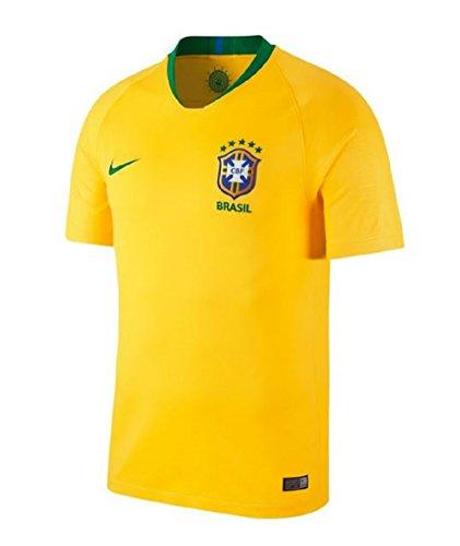 Camisa Nike Brasil Amarela Stadium