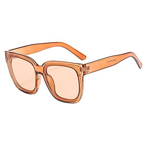 ShZyywrl Gafas De Sol Gafas De SolExtragrandespara Mujer Gafas Vintage Browntea