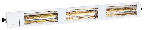 Burda Infrarot Kurzwellen Heizstrahler Smart Multi IP24 BHS6024, 6.000W - 240V, weiss