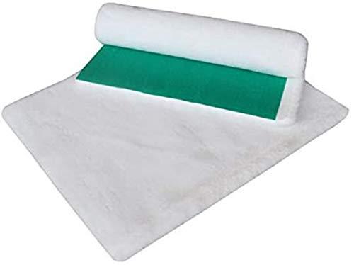 PJF The Original Greenback Vetfleece - Ideale per cucce per Cani o Cuccioli di Parto, Bianco, 118'x 30' (3,00 x 0,75 m)