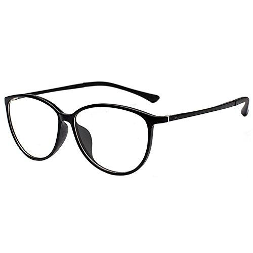 Zhuhaixmy Zhuhaixmy TR90 Ultraleicht Cat Eye Rand Kurzsichtigkeit Spiegel Gläser Kurzsichtig Kurzsichtig Brillen -0.5~-6.0 (Diese sind nicht Lesen Brille)