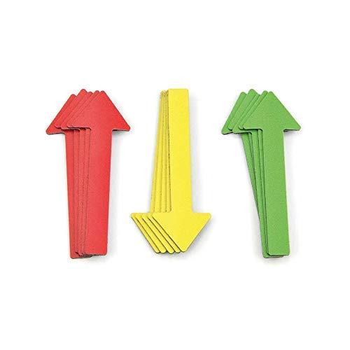 dictadores de veh/ículos presentaciones color amarillo 30 Pfeile dict/ámenes Flechas magn/éticas para expertos//monocrom/áticas//6 cm trabajos de proyecto