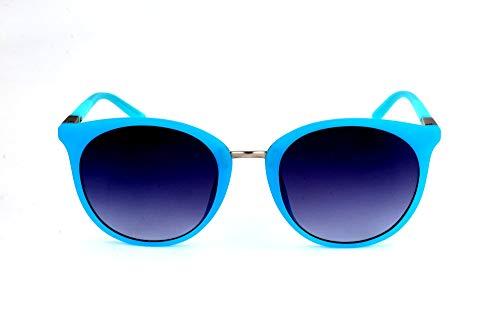 Guess Sonnenbrille GU3022 5288B Gafas de sol, Turquesa (Türkis), 56 Unisex Adulto