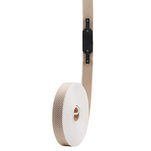 Rolladengurt Reparaturset für 22/23 mm Minigurte, ohne öffnen des Rolladenkastens, für verschmutzte und verschlissene Gurte, Rolladen, Jalousie, Rollo