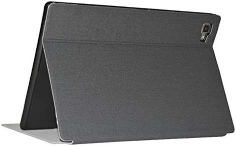 DLveer Custodia Cover per TECLAST P20//P20HD 10.1Tablet,Protezione a 360 Gradi Supporto Angoli Multipli con Tasca Portaoggetti TECLAST P20HD Custodia,Denim Nero