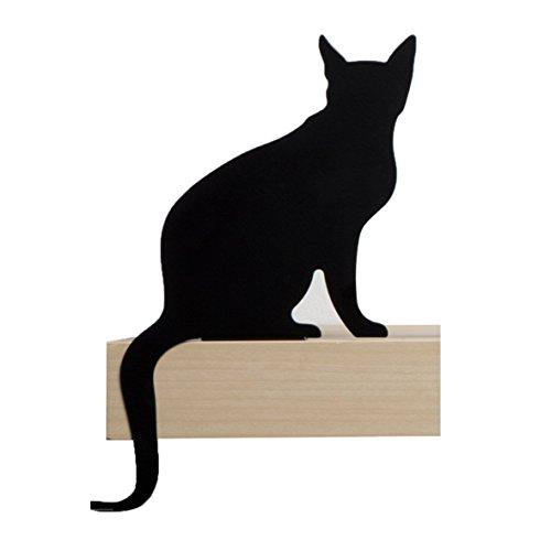 Artori Design Cat'S Meow | Figura Diva | Silueta de Gato Decorativa metálica | Estatuilla de Gato Decorativa | Regalo para Amantes de los Gatos | Decoración de Gatos para la casa