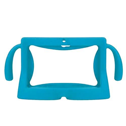 Vococal-Funda Protectora Universal de 7 Pulgadas para Tableta Funda de Silicona Suave Protector de cáscara de la Piel con Asas para niños Niños Q88 Y88 A13 Android Tablet Azul