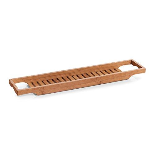 Zeller 13605 Badewannenablage, Bamboo, ca. 70 x 14,3 x 4,5 cm