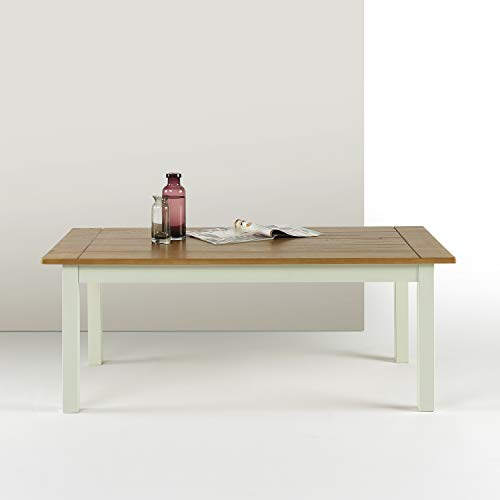 Zinus Becky Farmhouse Wood Coffee Table