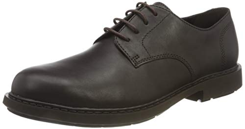 Camper Neuman Zapatos Oxford, Hombre, Marrón (Dark Brown), 39