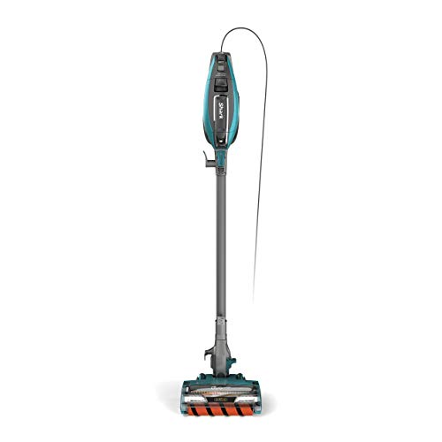 Shark ZS362 APEX DuoClean with Self-Cleaning Brusholl, Precision Duster, Crevice and Pet Multi-Tool, Corded Stick Vacuum, Forest Mist Blue