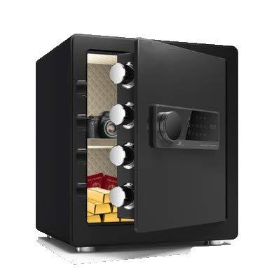 TTLIFE Caja de seguridad digital caja fuerte para documentos producción de acero aleado 3 métodos de apertura dos métodos de alarma Caja fuerte de seguridad utilizados para guardar joyas y documentos