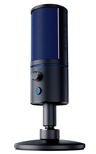 【PlayStation4 公式ライセンス商品】 Razer Seiren X for PlayStation4 コンデンサーマイク 配信 ゲーム実況向け マイク 単一指向性 USB 【日本正規代理店保証品】 RZ19-02290200-R3A1
