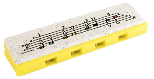Hohner speedy-armonica 8Stimmen für Kinder, gelb/grün