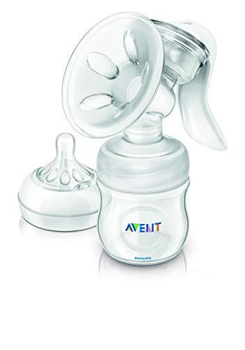 AVENT (Philips) - Tiralatte manuale Comfort (SCF330/70) con 12 pastiglie